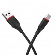 Кабель Borofone BX17 Type-C - USB черный, 1м