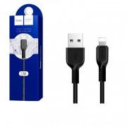 Кабель Hoco X20 Lightning - USB черный, 2м