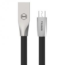 Кабель McDodo CA-1251 microUSB - USB черный, 1м