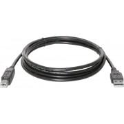 Кабель USB 2.0 A (M) - USB B (M), 2m FinePower [UamUbmBSi200V2Tmc]
