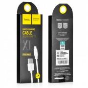 Кабель iPhone 5/6 Hoco X1 1m белый
