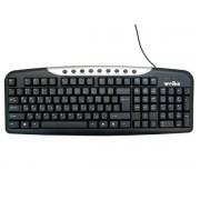 Клавиатура Good com FC-535 waterproof, 9 доп. м/м клавиш, черный, USB /30