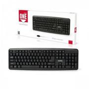 Клавиатура USB Smartbuy ONE 112 USB, черная, (SBK-112UM-K)