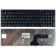 Клавиатура черная с черной рамкой ASUS K53SC