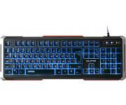 Клавиатура проводная Qumo Dragon War Chimera K23, подсветка (3цвета), USB