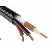 Коаксиальный кабель для видеонаблюдения STR КВК-П-3 2х0,75 мм2, 200 м/рулон, 75 Ом