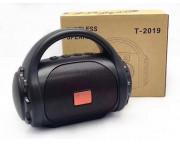 Колонка T-2019 черный (Bluetooth/USB/FM/MicroSD)