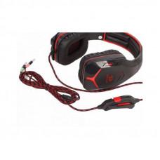 Компьютерная игровая гарнитура Redragon Excidium красный + черный, кабель 2,2 м, 64540