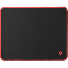 Коврик для мыши, игровой Black M 360x270x3мм, черный, 50560