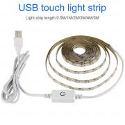 LED Лента холодный белый, usb 5v, 3м