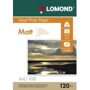 Lomond А4 120г/м2 Матовая бумага 100 листов