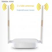 Маршрутизатор Tenda N301, Wi-Fi, LAN