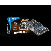 Материнская плата MSI B75MA-E31 LGA1155 б/у