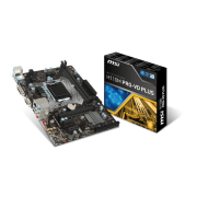 Материнская плата MSI H110M PRO-VD PLUS LGA 1151, DDR4 х 2, DVI/Dsub, SATA3, USB3, mATX