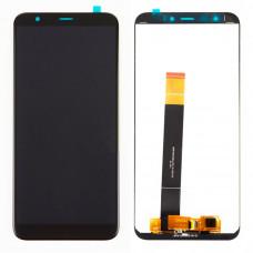 Модуль (дисплей + тачскрин) для Meizu M8 черный