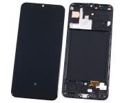 Модуль (дисплей + тачскрин) для Samsung Galaxy A30s SM-A307 с рамкой (ORIG)
