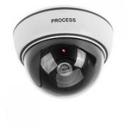 Муляж камеры видеонаблюдения  (купольная) с LED индикатором, PROCESS