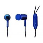 Наушники G2 с микрофоном голубой