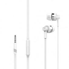 Наушники Langsdom MJ61 с микрофоном белые