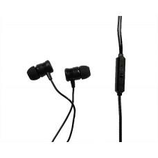 Наушники с микрофоном черные (1) U57