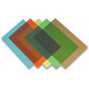 Обложки для переплета Fellowes Transparent A4 [FS-53772] красная, PVC, 200 мкм, 1шт.