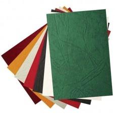 Обложки для переплета Lamirel Delta зеленые\с тиснением под кожу, картон, 250 г/м2, 1шт.