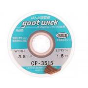 Оплетка для выпайки goot CP-3515 (3,5мм*1,5м)