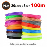 PCL нити для 3D ручки RP-200A (20 цветов)