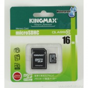 Память KingMax (microSDHC) 16 GB class 4