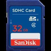 Память SanDisk (SDHC) 32 Gb class 2/4