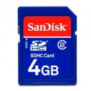 Память SanDisk (SDHC) 4 Gb class 2/4
