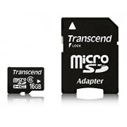 Память Transcend (MicroSDHC) 16 Gb class 6