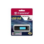 Память USB 3.0 Flash Transcend 8 Gb JetFlash 760 black