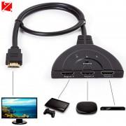 Переключатель HDMI -> HDMI трех портовый HD 1080p