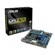 Плата ASUS Socket-AM3+ M5A78L-M PLUS/USB3 AMD760G/SB710 4xDDR3-1333 PCI-Ex16 HDMI/DVI/DSub 8ch 6xSATA 2xUSB GLAN mATX