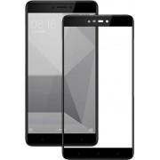 Пленка / стекло на дисплей для XIAOMI Redmi Note 4X (Gorilla Glass) (черный) техпак