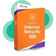 Продление Avast Internet Security Nitro (лицензия для 3 ПК, длительностью 1 год)