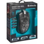 Проводная игровая мышь Defender Ghost GM-190L, оптика, 6 кнопок,800-3200 dpi, 52190