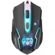 Проводная игровая мышь Defender Skull GM-180L, оптика, 6 кнопок, 800-3200 dpi, 52180