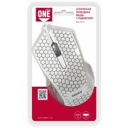 Проводная мышь USB Smartbuy ONE 334 белая, SBM-334-W