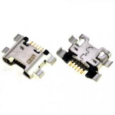Разъем системный Micro USB для Huawei Enjoy 7S (FIG-AL00) (ORIG)