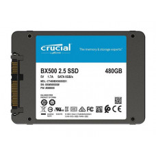 SSD накопитель Crucial BX500 480ГБ R500/W540MB/s (CT480BX500SSD1)