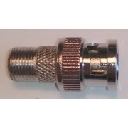 Штекер BNC STR-15-065Z - F гнездо, цинк