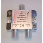 Сумматор STR-16-022, SAT+TV, 950-2400 MHz, 5-860 MHz