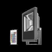 Светодиодный прожектор ОНЛАЙТ OFL-20-RGB-BL-IP65-LED