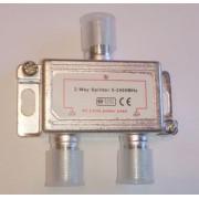 ТВ делитель STR-16-024, 2 выхода, 5-2400 MHz