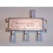 ТВ делитель STR-16-025, 3 выхода, 5-2400 MHz