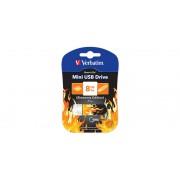 USB-Flash 8GB Verbatim Mini Elements Edition Fire