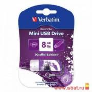 USB-Flash 8GB Verbatim Mini Elements Edition Water