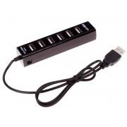 USB-разветвитель DEXP BT7-01 [USB 2.0, 7-Port, с блоком питания, черный]